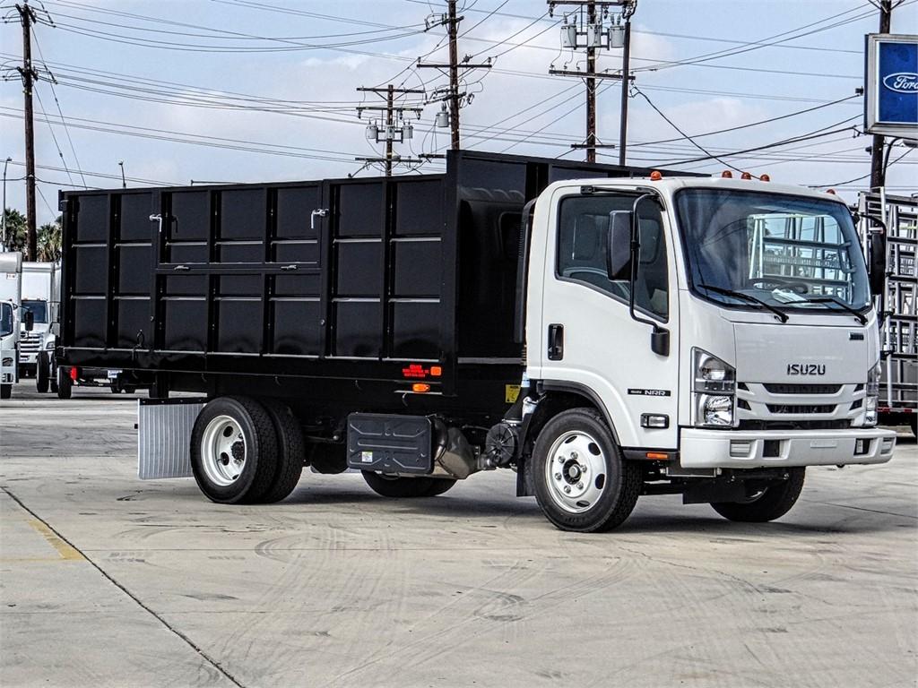 2020 Isuzu NRR Regular Cab 4x2, Legacy Truck Equipment, Inc. Landscape Dump #Z301338 - photo 1