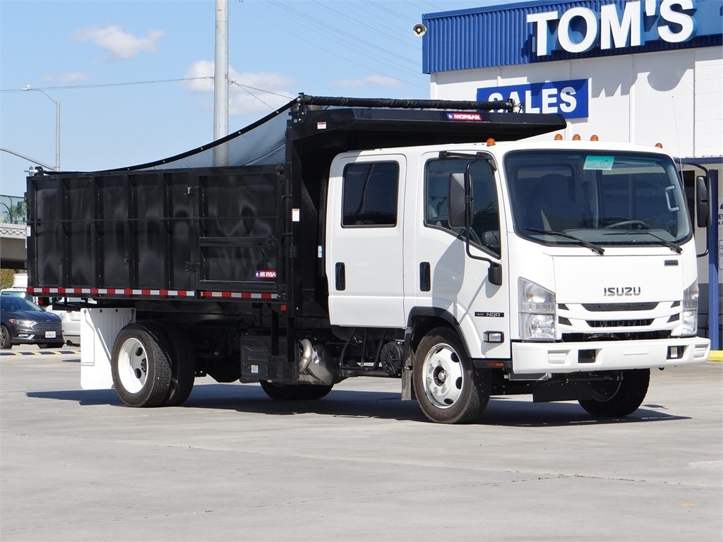 2020 Isuzu NQR Crew Cab 4x2, Morgan Landscape Dump #Z900351 - photo 1