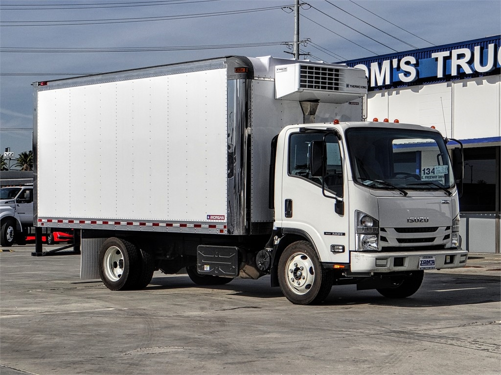 2019 Isuzu NQR Regular Cab 4x2, Morgan Refrigerated Body #Z901635 - photo 1