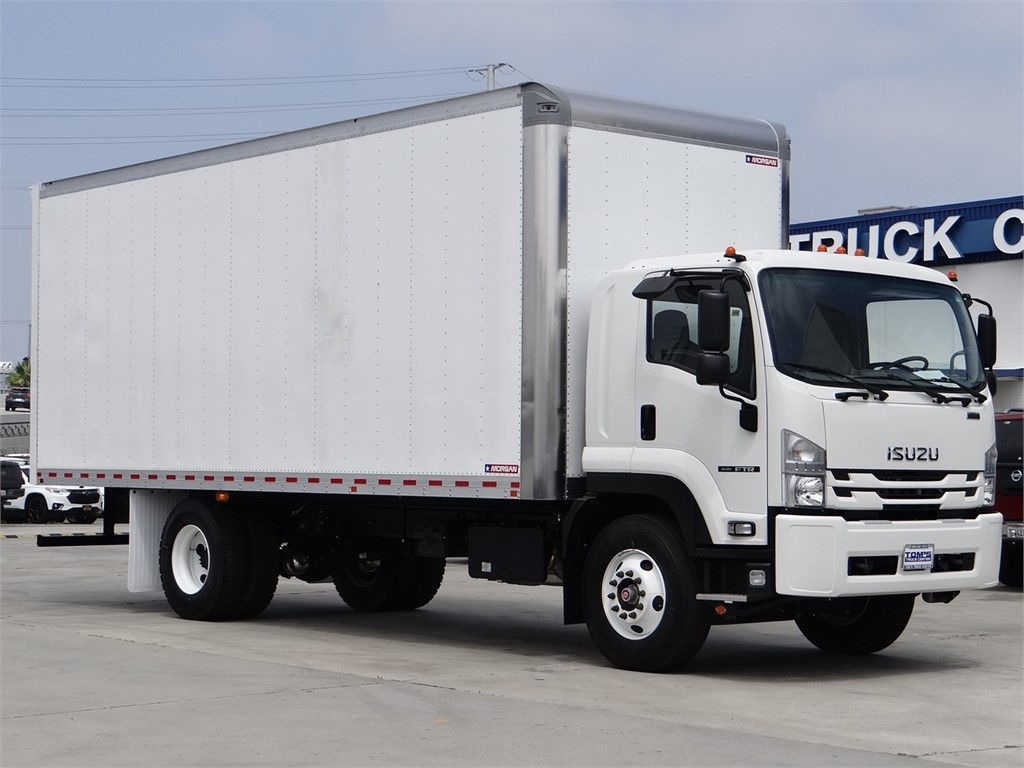 2020 Isuzu FTR Regular Cab 4x2, Morgan Dry Freight #ZG00114 - photo 1