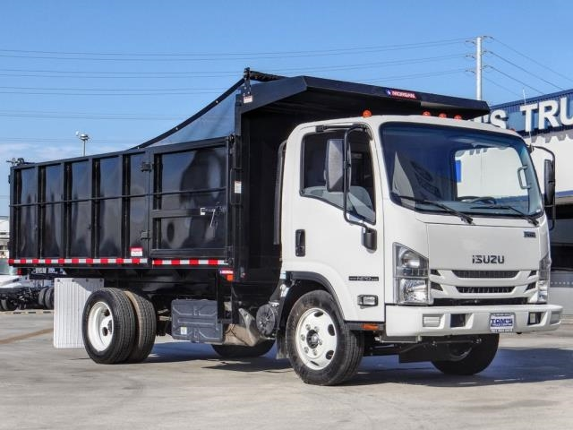 2021 Isuzu NPR-XD Regular Cab 4x2, Morgan Landscape Dump #ZK00353 - photo 1