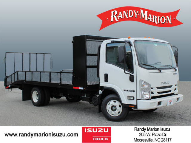 2019 Isuzu NPR Regular Cab 4x2, Pinto Metal Fabrication Dovetail Landscape #IZ1553 - photo 1