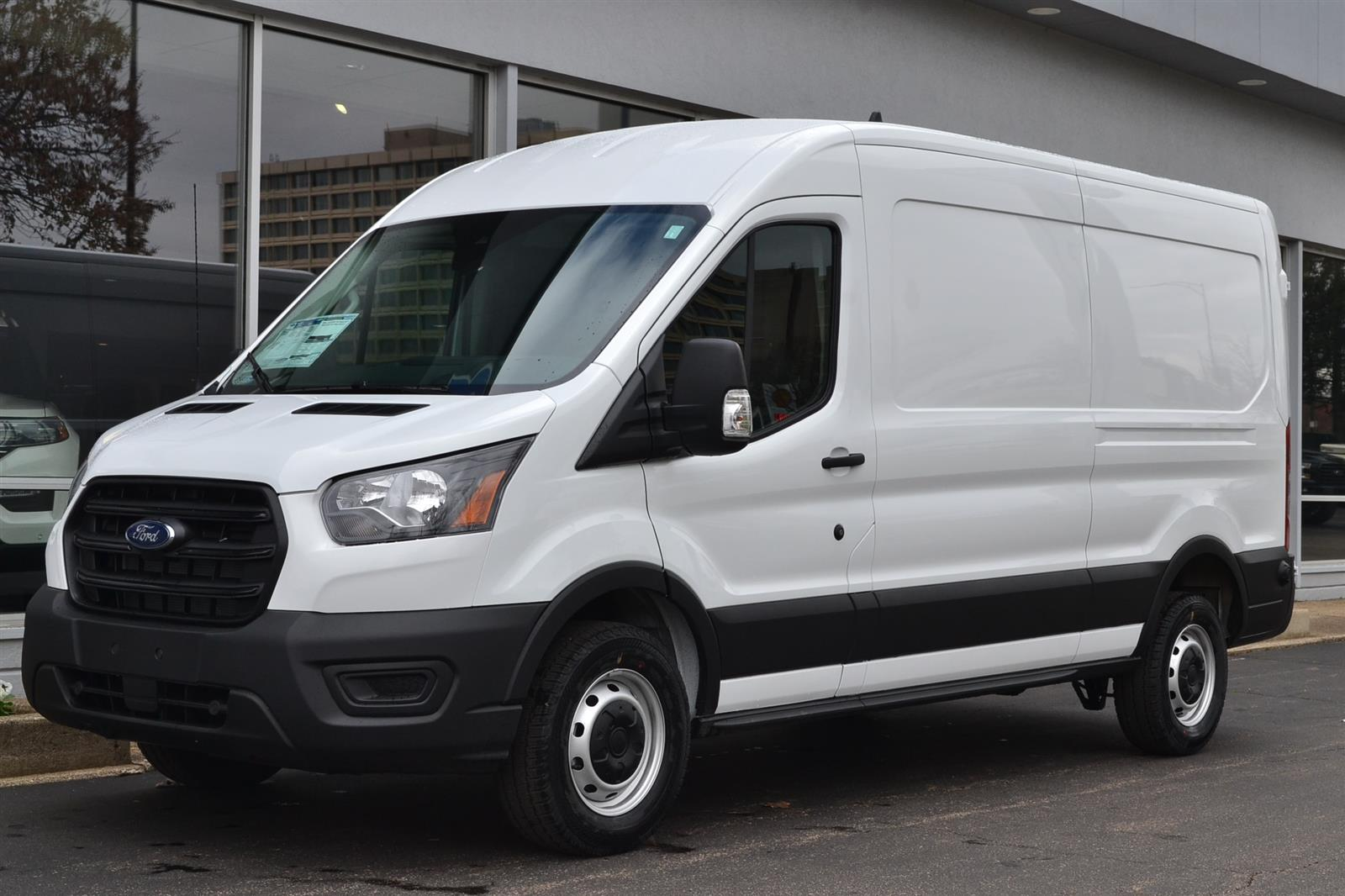 2020 Ford Transit 250 Med Roof RWD, American Van Upfitted Cargo Van #2120 - photo 1