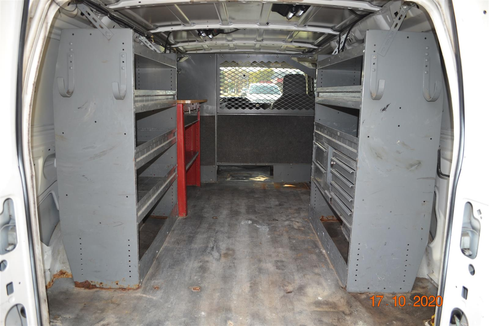 2010 Ford E-350 4x2, Upfitted Cargo Van #2120A - photo 1