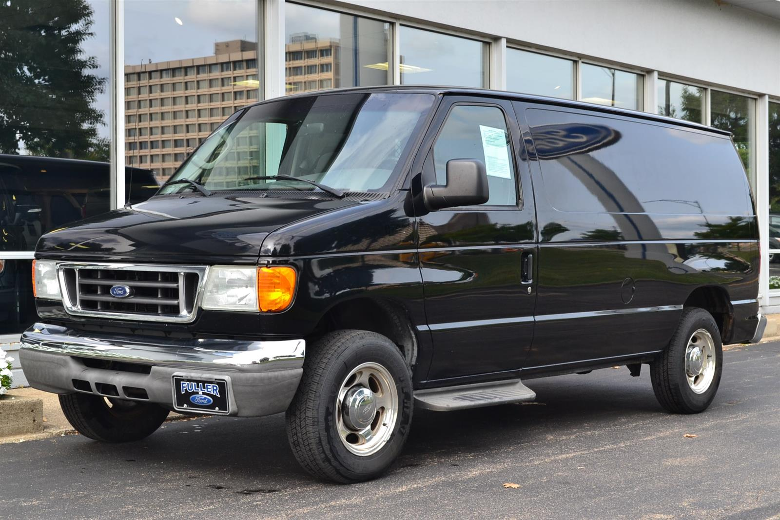 2007 Ford E-150 4x2, Empty Cargo Van #A341A - photo 1