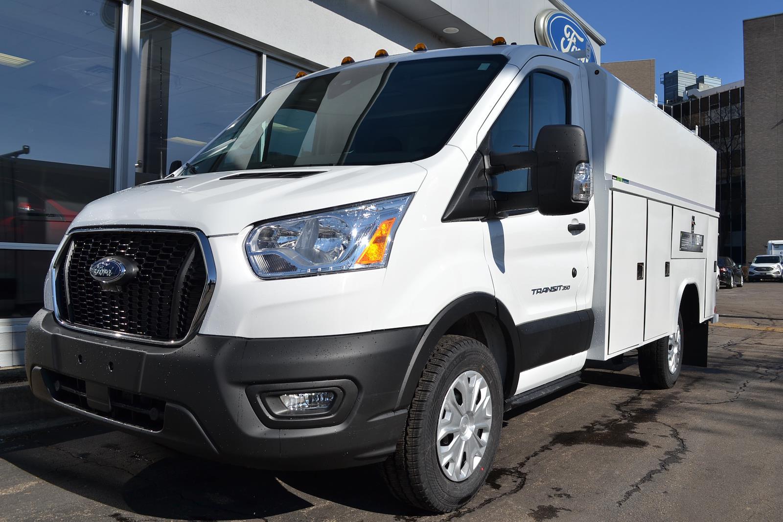 2020 Ford Transit 350 4x2, Reading Service Utility Van #A605 - photo 1