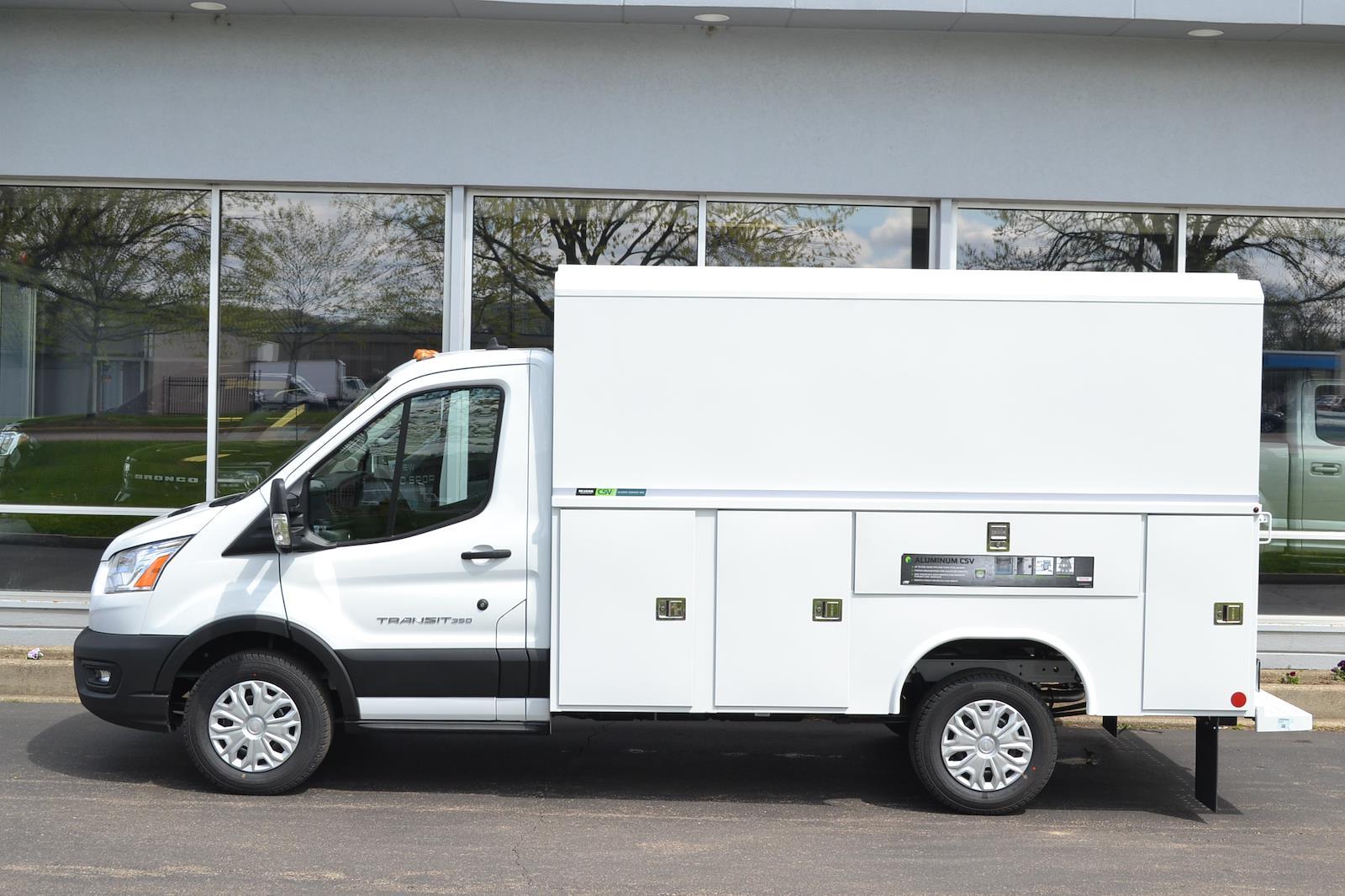 2021 Ford Transit 350 4x2, Reading Service Utility Van #B207 - photo 1