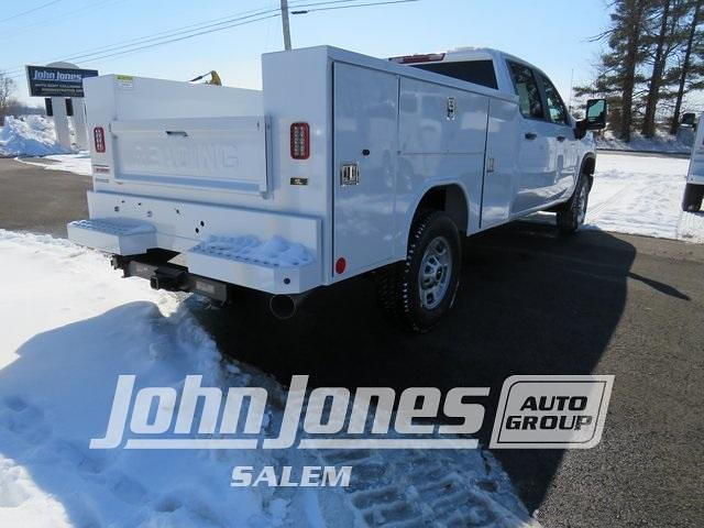 2021 Chevrolet Silverado 2500 Crew Cab 4x4, Reading Service Body #S1572M - photo 1