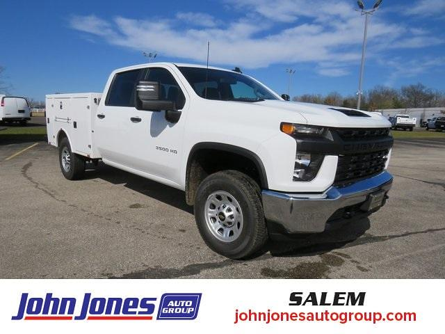 2021 Chevrolet Silverado 3500 Crew Cab 4x4, BrandFX Service Body #S1612M - photo 1