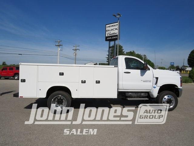 2021 Chevrolet Silverado 5500 Regular Cab DRW 4x4, Knapheide Service Body #S1647M - photo 1