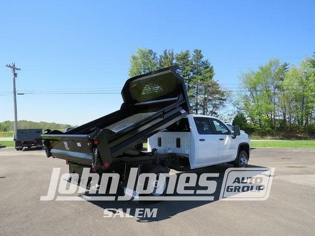 2021 Chevrolet Silverado 3500 Crew Cab 4x4, Crysteel Dump Body #S1662M - photo 1