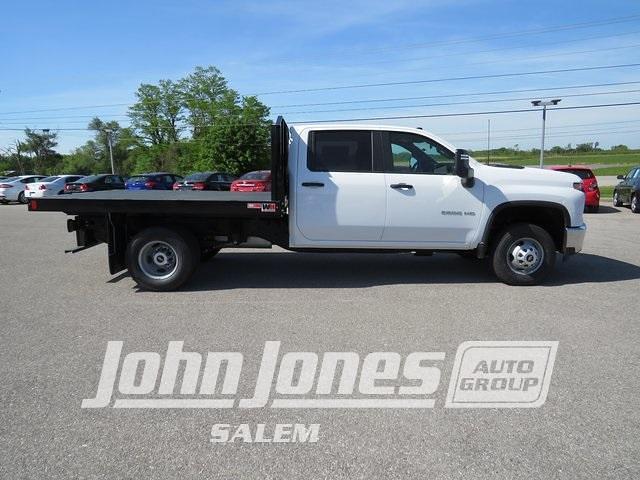 2021 Silverado 3500 Crew Cab 4x4,  Monroe Truck Equipment Work-A-Hauler II Platform Body #S1695M - photo 2
