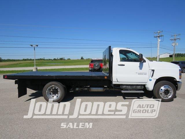 2021 Silverado 5500 Regular Cab DRW 4x2,  Blue Ridge Manufacturing (Freedom) Workhorse Platform Body #S1760M - photo 4