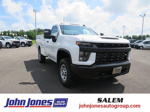 2021 Silverado 3500 Regular Cab 4x4,  Warner Truck Bodies Select Pro Service Body #S1771M - photo 1