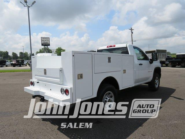 2021 Silverado 3500 Regular Cab 4x4,  Warner Truck Bodies Select Pro Service Body #S1771M - photo 2