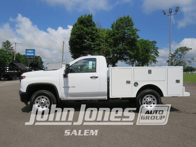 2021 Silverado 3500 Regular Cab 4x4,  Warner Truck Bodies Select Pro Service Body #S1771M - photo 3