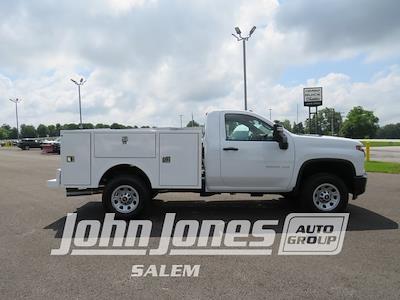 2021 Silverado 3500 Regular Cab 4x4,  Warner Truck Bodies Select Pro Service Body #S1771M - photo 4