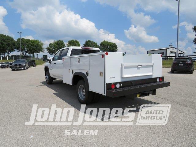 2021 Silverado 3500 Crew Cab 4x4,  Monroe Truck Equipment Service Body #S1797M - photo 16