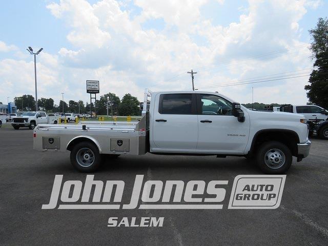 2021 Silverado 3500 Crew Cab 4x4,  Monroe Truck Equipment Tow 'N Haul Gooseneck Platform Body #S1841M - photo 4