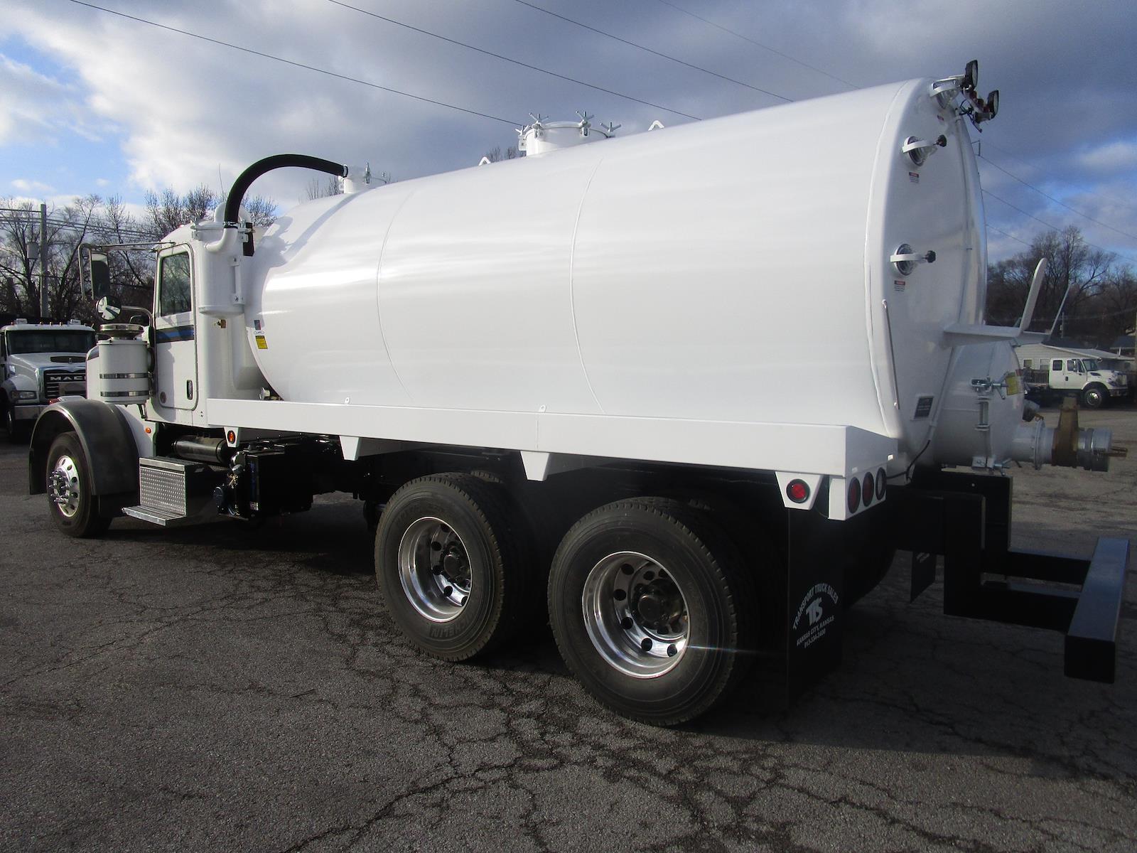 2012 Peterbilt 367 Day Cab 6x4, 3,360 gallon steel vacuum tank #VAC-37521 - photo 1