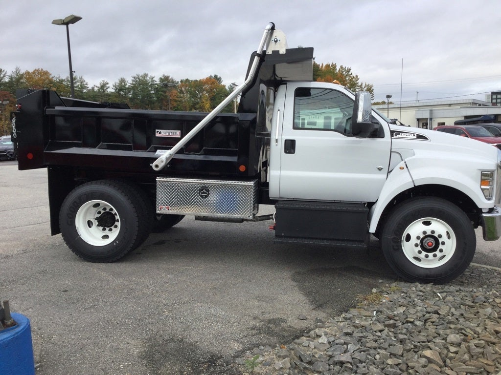 2021 Ford F-650 Regular Cab DRW 4x2, Crysteel Dump Body #FJ0003 - photo 1