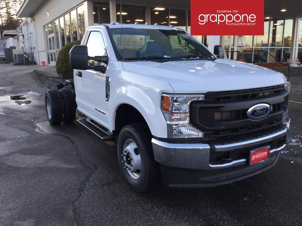 2021 Ford F-350 Regular Cab DRW 4x4, Cab Chassis #FJ0029 - photo 1