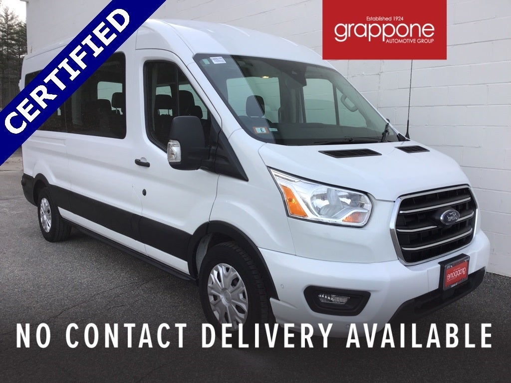 2020 Ford Transit 350 Med Roof 4x2, Passenger Wagon #FP16983 - photo 1