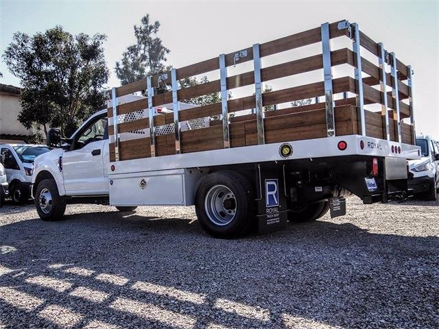 2021 Ford F-350 Regular Cab DRW 4x2, Stake Bed #00210220 - photo 1