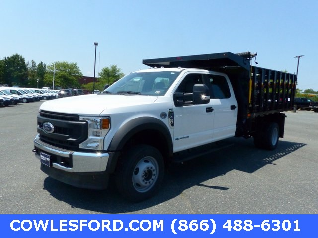 2020 Ford F-450 Crew Cab DRW 4x4, PJ's Stake Bed #200812 - photo 1