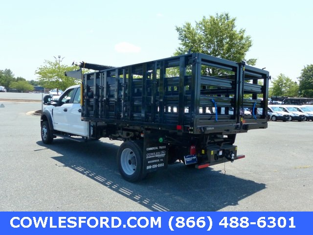 2020 Ford F-450 Crew Cab DRW 4x4, PJ's Stake Bed #200968 - photo 1