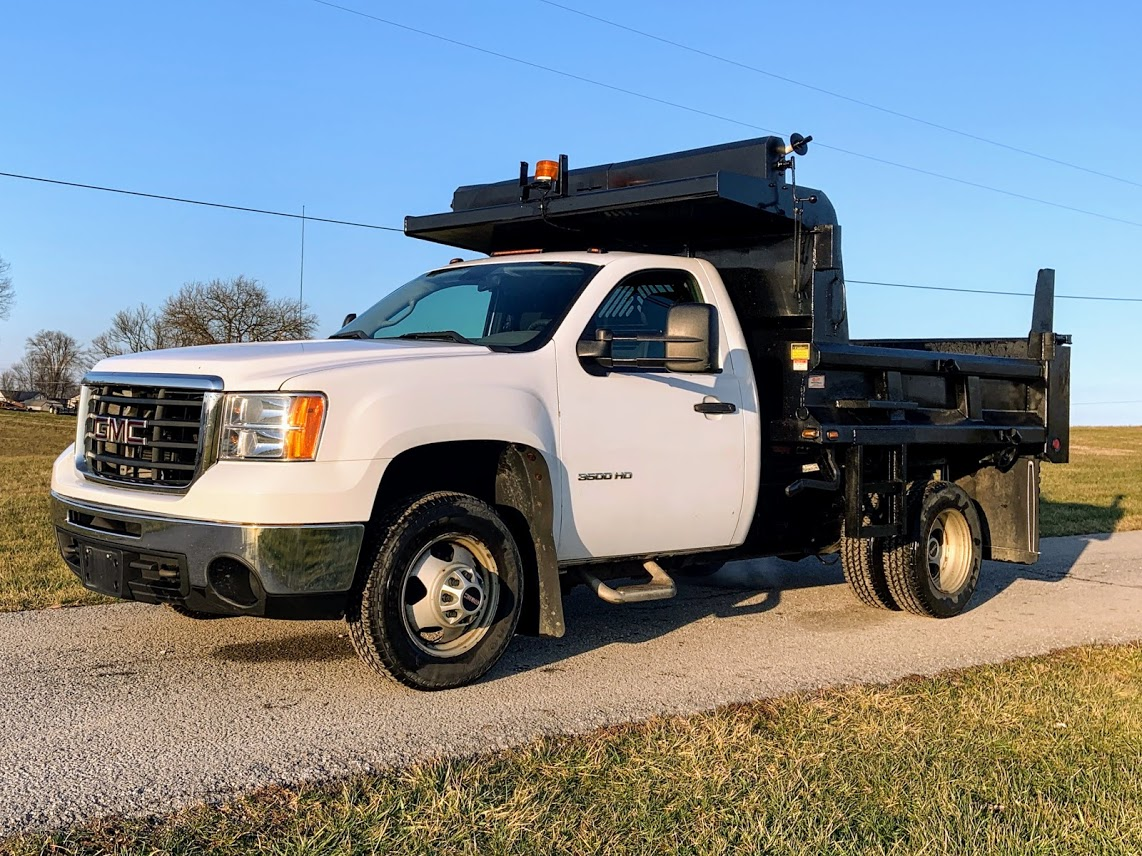 2010 GMC Sierra 3500 Regular Cab 4x4, Dump Body #9367 - photo 1