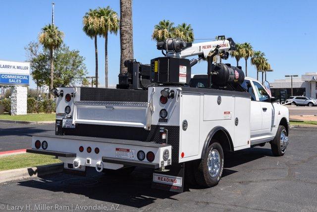 2019 Ram 3500 Crew Cab DRW 4x4, Reading Master Mechanic HD Crane Crane Body #19P00009 - photo 13