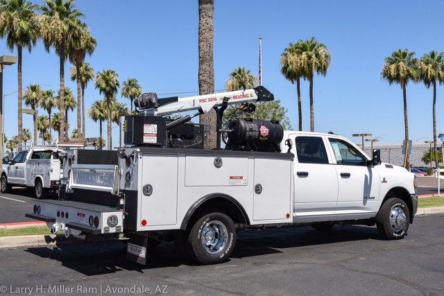 2019 Ram 3500 Crew Cab DRW 4x4, Reading Master Mechanic HD Crane Crane Body #19P00009 - photo 14