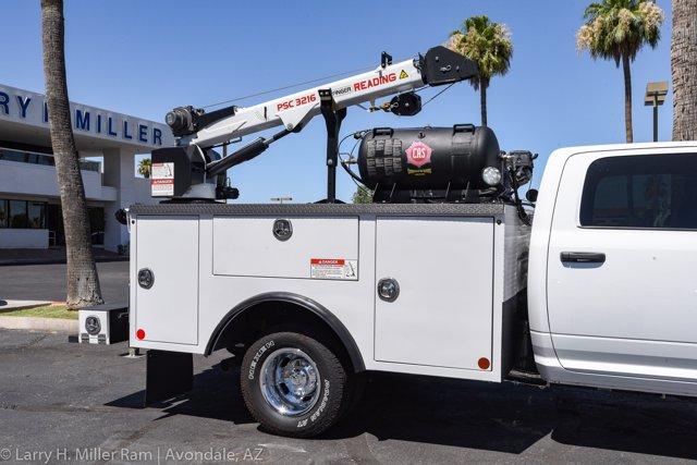 2019 Ram 3500 Crew Cab DRW 4x4, Reading Master Mechanic HD Crane Crane Body #19P00009 - photo 16