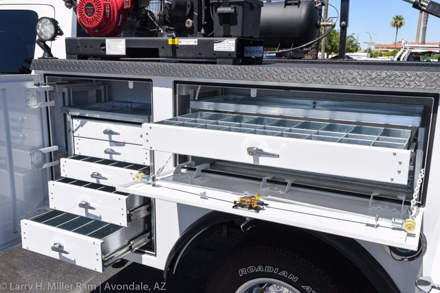 2019 Ram 3500 Crew Cab DRW 4x4, Reading Master Mechanic HD Crane Crane Body #19P00009 - photo 7