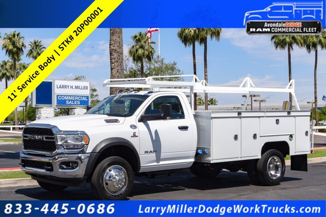 2020 Ram 5500 Regular Cab DRW RWD, Scelzi Contour Service Body #20P00001 - photo 1