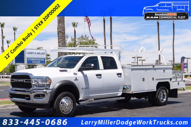 2020 Ram 5500 Crew Cab DRW 4x4, Scelzi SEC Combo Body #20P00002 - photo 1