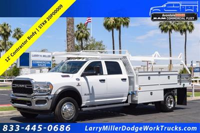 2020 Ram 5500 Crew Cab DRW RWD, Scelzi CTFB Contractor Body #20P00009 - photo 1