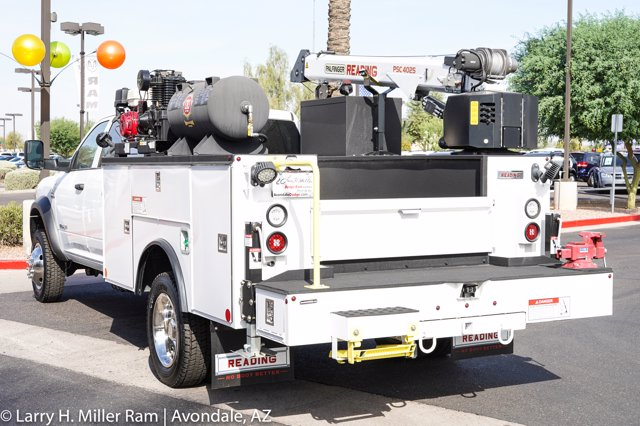 2020 Ram 4500 Crew Cab DRW 4x4, Reading Master Mechanic HD Crane Mechanics Body #20P00026 - photo 12