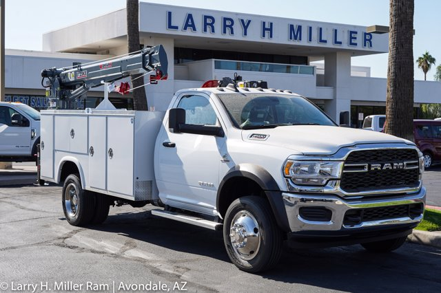 2020 Ram 4500 Regular Cab DRW 4x4, Royal Utility Crane Body Mechanics Body #20P00032 - photo 15