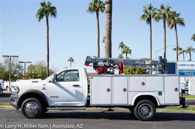2020 Ram 4500 Regular Cab DRW 4x4, Royal Utility Crane Body Mechanics Body #20P00032 - photo 4