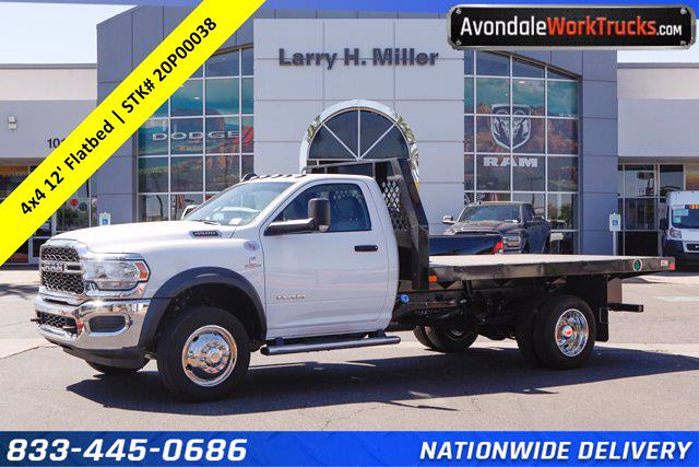 2020 Ram 4500 Regular Cab DRW 4x4, Rugby Platform Body #20P00038 - photo 1