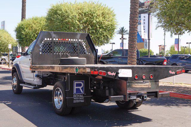 2020 Ram 4500 Regular Cab DRW 4x4, Rugby HD Rancher Platform Body #20P00038 - photo 2