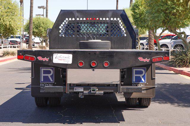 2020 Ram 4500 Regular Cab DRW 4x4, Rugby HD Rancher Platform Body #20P00038 - photo 4