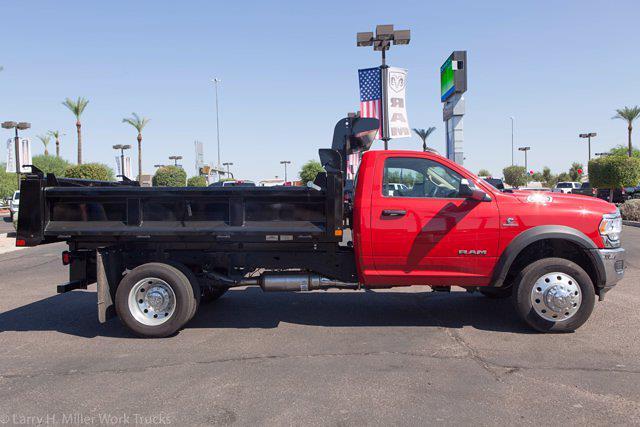2020 Ram 4500 Regular Cab DRW 4x2,  Rugby Eliminator LP Steel Dump Body #20P00068 - photo 10