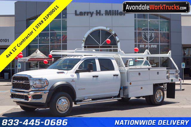 2021 Ram 5500 Crew Cab DRW 4x4, Scelzi Contractor Body #21P00011 - photo 1
