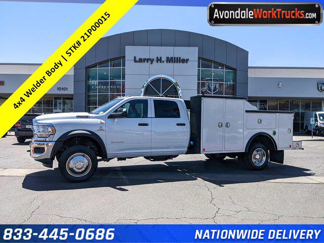 2021 Ram 4500 Crew Cab DRW 4x4, Reading Master Mechanics HD Welder Body #21P00015 - photo 1