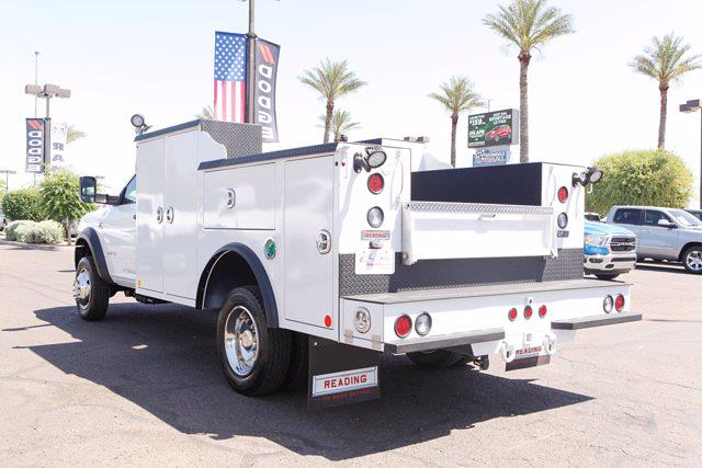 2021 Ram 5500 Regular Cab DRW 4x4, Reading Welder Body #21P00026 - photo 1