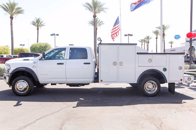 2021 Ram 5500 Crew Cab DRW 4x4, Reading Master Mechanics HD Welder Body #21P00027 - photo 3