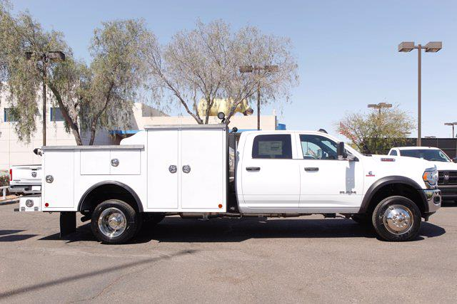 2021 Ram 5500 Crew Cab DRW 4x4, Reading Master Mechanics HD Welder Body #21P00027 - photo 4